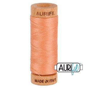 Aurifil 1080-2215 Cotton Mako Thread, 80wt 280m PEACH