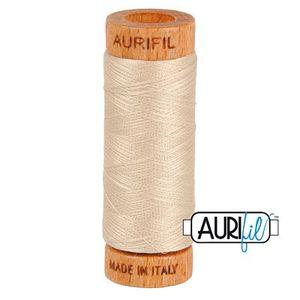 Aurifil 1080-2312 Cotton Mako Thread, 80wt 280m ERMINE