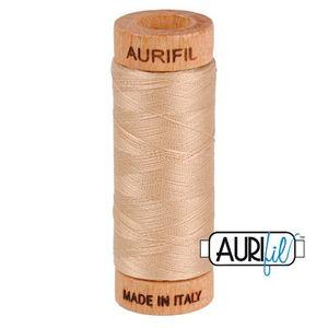 Aurifil 1080-2314 Cotton Mako Thread, 80wt 280m BEIGE