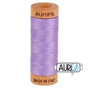 Aurifil 1080-2520 Cotton Mako Thread, 80wt 280m VIOLET
