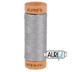 Aurifil 1080-2606 Cotton Mako Thread, 80wt 280m MIST