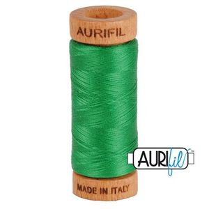 Aurifil 1080-2870 Cotton Mako Thread, 80wt 280m GREEN