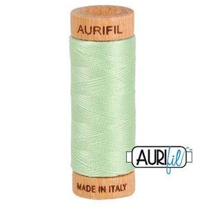 Aurifil 1080-2880 Cotton Mako Thread, 80wt 280m PALE GREEN