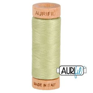 Aurifil 1080-2886 Cotton Mako Thread, 80wt 280m LIGHT AVOCADO