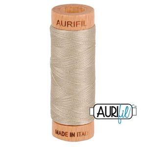 Aurifil 1080-5011 Cotton Mako Thread, 80wt 280m ROPE BEIGE