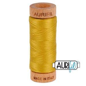 Aurifil 1080-5022 Cotton Mako Thread, 80wt 280m MUSTARD