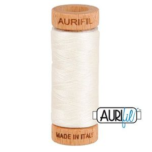 Aurifil 1080-6722 Cotton Mako Thread, 80wt 280m SEA BISCUIT