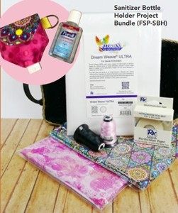 Floriani  FSP-SBH Hand Sanitizer Bottle Holder Project Bundle