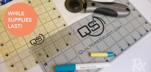 Floriani  QSP-TOOLS20B Quilter's Select Starter Tool Kit