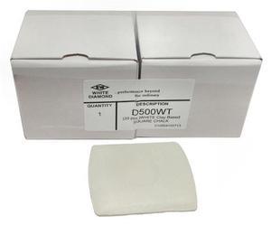 EW White Diamond D500WT Tailor's Chalk Box, 20 Ct. White