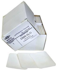 EW White Diamond D999-SLO Disappearing Chalk, 36 Ct. Box Grey/White