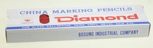 Diamond D71 Grease Pencils, 12 Ct. Red