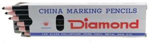 Diamond D77 Grease Pencils, 12 Ct. Black