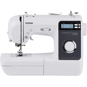 Brother ST150HDH,  NS40E, NS80E, Babylock, Jubilant  ,  Strong & Tough 50-Stitch Sewing Machine, 6.4x4.1in Arm Space, LCD Screen, LED Light, Advanced Threader, Buttonholes, 7Pt Feed, 9 Feet, Brother, DEmo Innov-is, 40e, NS40E PRW, babylock rachael, BL50A, Babylock Rachel BL50A, 50 Stitch, Project Runway, Computer, Sewing Machine, Babylock BL50A, (Consumer Reports, Best Buy, NS40* +10 More Stitches, for the Same Price!)