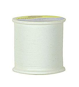 Coats Glow in the Dark Thread, White 100 yd. Spool 3 Pack