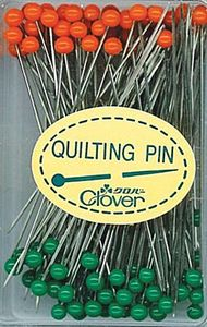 Clover CLQ2508 Quilting Pins 100ct