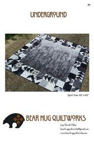 Bear Hug Quiltworks BHQ145 Underground