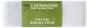 Dritz D9591-WHT 2in Soft Waistband Elastic White