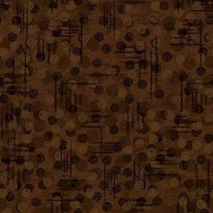 Blank Quilting Jot Dot 9570 39 Brown