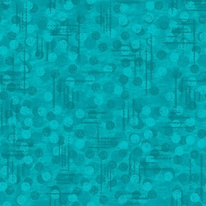 Blank Quilting Jot Dot 9570 76 Teal