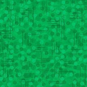 Blank Quilting Jot Dot 9570 62 Kelly Green