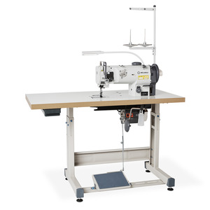 Reliable 4210SW Single Needle Lockstitch, Walking Foot Industrial Sewing Machine with Stand, Assembled