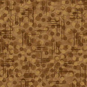Blank Quilting Jot Dot 9570 35 Light Brown