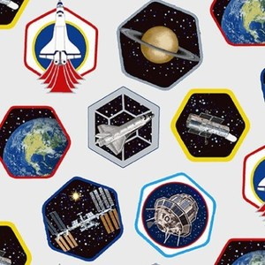Studio E Planetary Missions 5307-09 Multi Patches