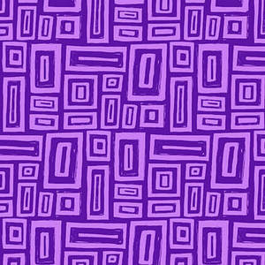 Blank Quilting Points of Hue 9990-55 Purple Rectangle Geo