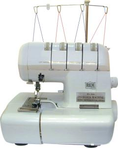 Rex RX3044 Overlock Serger Machine, 4/3/2 Thread, Open Front, Quick & Easy Theading (Replace White 2000ATS, 2900D, Singer 14J, Reliable Dream Stitcher
