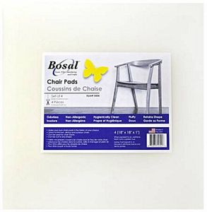 """Bosal BOS5454 Set of 4 Chair Pads — 18"""" x 18"""" Square"""