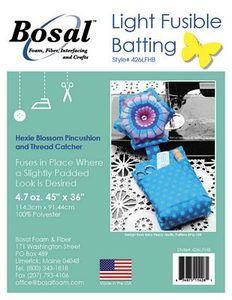 Bosal BOS426LFHB Batting for Eazy Peazy Pattern-EPQ-158