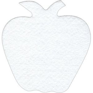 Bosal BOSMRS-12-APPL Mug Rug Shapes, Apple, 4 Pk.