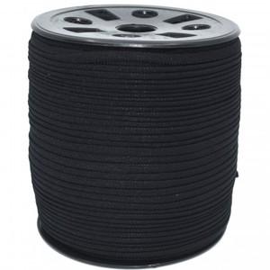 """Banded Stretch Elastic GANEL-NB-BLA Black - 1/6"""""""