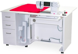 Bernina Sewing Studio by Horn for Bernina 3, 4 and 5 Series Machines—Choose from White or Grey