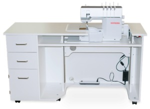 Bernina Serging Studio by Horn for Bernina L 850 and L 890 Machines—Choose from White or Grey