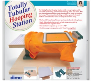 """Dime TTHS001 Totally Tubular Hooping Station with 8"""" x 13"""" and 13"""" x 13"""" Hooping Boards and Mats"""