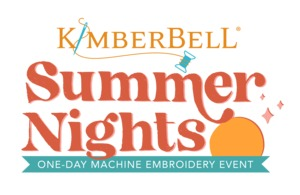 New Kimberbell Summer Nights Kit and Embroider Along Event, Houston Location, Sat, May, 8 2021
