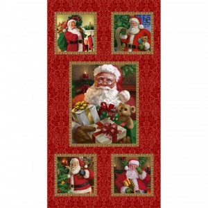 3 Wishes Fabric HEG9524P-88 CHRISTMAS LEGEND