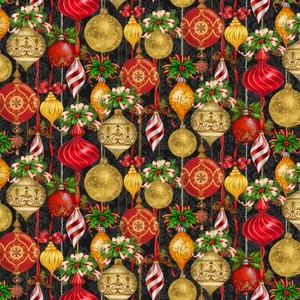 3 Wishes Fabric HEG9520-99 CHRISTMAS LEGEND