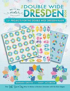 Martingale B5101 The Double Wide Dresden Book