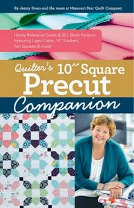 C&T Publishing CT11422 Quilter's 10 in Square Precut Companion