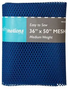 Nifty Notions Mesh Fabric, Royal Blue