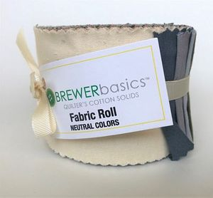 Brewer Basics Fabric Roll, Neutral Colors