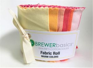 Brewer Basics Fabric Roll, Warm Colors