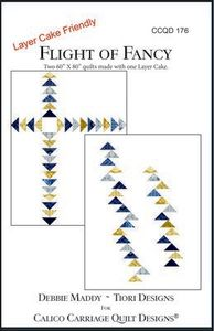 Calico Carriage Quilt Designs CCQD176 Flight of Fancy Pattern