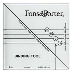 Fons & Porter FP7892 Binding Tool