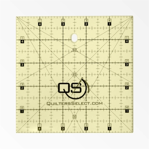 """Quilters Select QS-RUL5x5 5"""" x 5"""" Non-Slip Deluxe Quilting Ruler"""