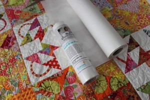 """Quilters Select QSAWP-1010 Select Appli-Web Plus Stabilizer, 10"""" x 10 Yd. Roll"""