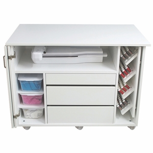 """Horn 90 Storage Chest with 27"""" Deep Cabinet for Embroidery Machine"""